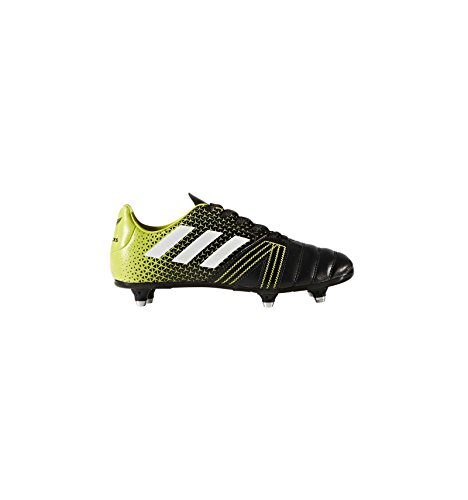 adidas Unisex-Kinder All Blacks Junior SG Rugbyschuhe Schwarz (Negbas/Ftwbla/Seamso)
