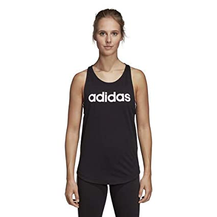 6d19d9c5232 Amazon.com: adidas Women's Essentials Linear Loose Tank Top: Sports ...
