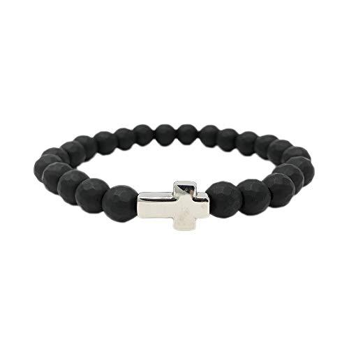 Elite Athletic Gear Sports Bead Bracelets 14+ Options for Men, Women & Children (Religious Cross, ()
