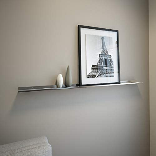 Floating Ledge Stainless Steel for Photo and Picture 3,5 Extra Deep 4 FT Long by 3.5 Wide