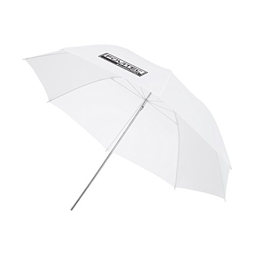 Fovitec - 1x 40 inch Translucent Photography & Video Reflector Umbrella - [Reinforced Fiberglass][Easy Set-up][Collapsible][Durable Nylon] by Fovitec