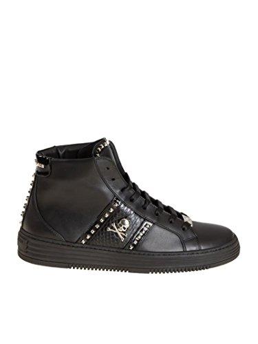 Nero Uomo Pelle Msc0377ple062n0291 Sneakers Hi Top Plein Philipp gqS0PaP