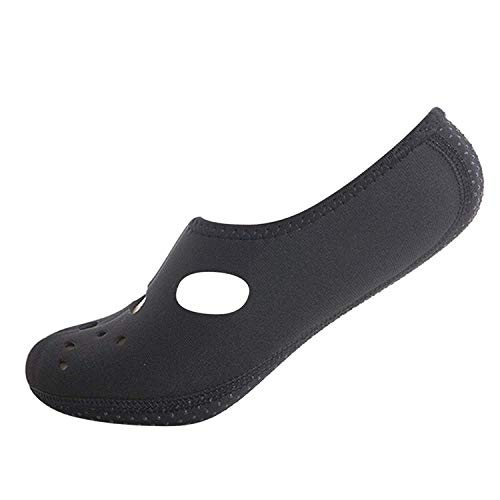 Boolavard Water Sports Shoes Barefoot Quick-Dry Aqua Yoga Socks Slip-on for Men Women Kids