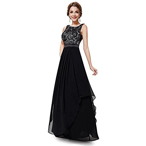 Ever-Pretty Womens Womens Christmas Evening Dresses 12 US Black