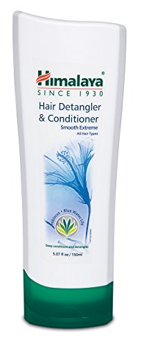 Dry Hair Formula Detangler - Himalaya Hair Detangler & Conditioner, for Dry and Frizzy Hair, Deeply Conditions and Detangles, 5.07 oz (150 ml) - 3 PACK