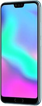 """Honor 10 Smartphone, 4G LTE, 64GB di memoria, 4GB RAM, Display 5.8"""" FHD+, Doppia Fotocamera 24+16MP, Grigio [Italia]"""