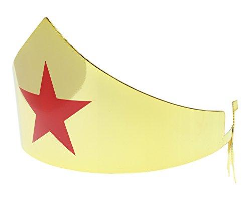 Gold Wonder Woman Tiara Crown -