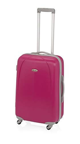 Maleta Mediana Faten John Travel de 63 litros Fucsia: Amazon ...