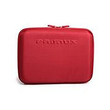 Primux Tech HC100R - Maletín rígido para portátiles de 10.1, Rojo: Amazon.es: Informática