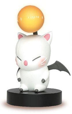 Plush Lamp (Taito Final Fantasy XIV A Realm Moogle Figure Room Lamp Light Yellow,)