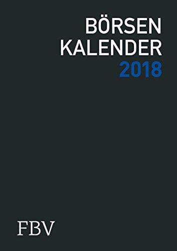 Börsenkalender 2018