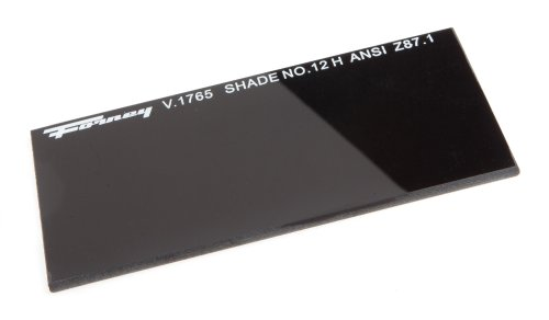 Forney 57012 Lens Replacement Hardened Glass, 4-1/4-Inch-by-2-Inch, Shade-12