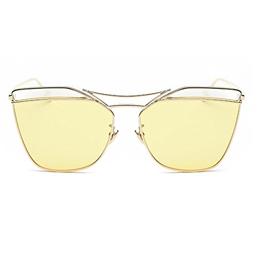 LOMOL Girls Fashion Trendy Personality UV Protection Metal Frame Wayfarer - S Kd Sunglasses