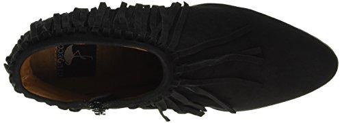 Giudecca Dames 1572-690 Korte Schacht Laarzen Zwart (black)