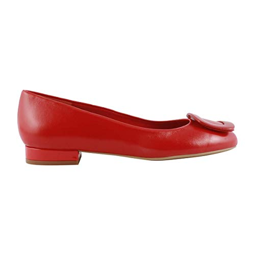 Rouge Paris Cardinal Ballerines Exclusif Cuir En c7YwOwqP