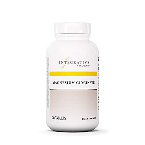 Integrative Therapeutics - Magnesium Glycinate Plus - Well-Tolerated, Bioavailable Magnesium Supplement - 120 Tablets