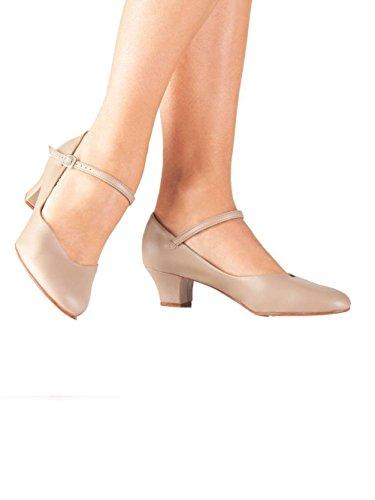 e620046c So Danca CH50 Women's Character Shoe 1.5in Heel Caramel 8M US