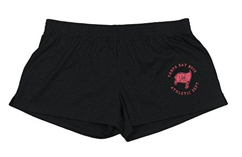 - NFL Reebok Juniors Womens Tampa Bay Buccaneers Cheerleader Shorts, Black
