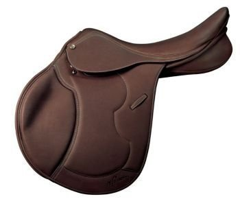Heritage Saddles (Pessoa Heritage Pro Covered Saddle 17 Med)