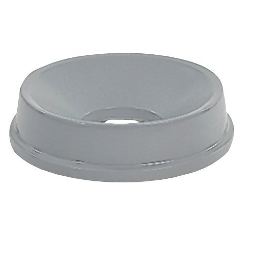 (Rubbermaid Commercial 3543GRA Round Brute Funnel Top Receptacle, 22 3/8 x 5, Gray)