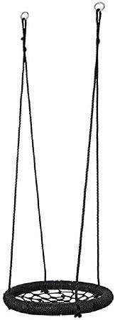 ブランコ 屋内屋外のスイング子供たちは、子供のギフトのための安全でスイング ジャングルジム・ブランコ (色 : Black, Size : 62x62x8CM)