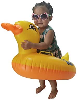 JHYNB Children's Water Animal mounts PVC Inflatable 35 inches Cartoon Toys  Water Supplies