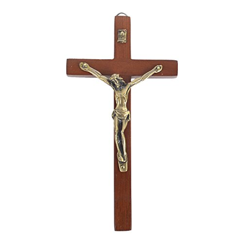 Crucifix Wood Cross - 6 3/4