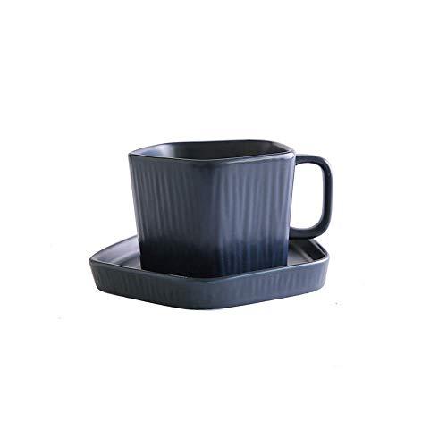 VCXKA Taza de café Estilo japonés Esmalte Esmerilado Juego de té de cerámica de Cuatro Colores Taza de té por la Tarde...