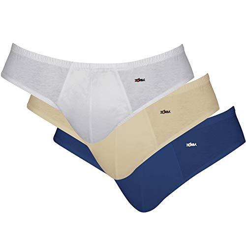 0126e2050 Kit com 03 Cuecas Slip Zorba Algodão 791  Amazon.com.br  Amazon Moda