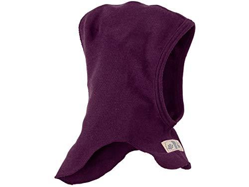 (Lilano Organic Merino Wool and Silk Baby Balaclava [100930]. Made in Germany. (62/68 (3-6 Months), Berry))