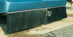 Industrial Brush 3006154 Splash Stop 16'' Brush Shield