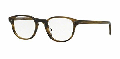 Oliver Peoples - Fairmont - 5219 47 - Eyeglasses (MATTE MOSS TORTOISE, - Eyeglasses Custom Online