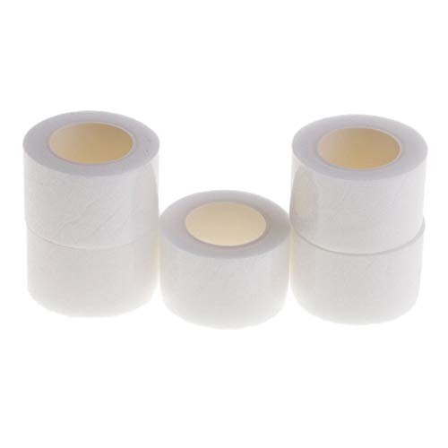 (5 Roll X 8m 30mm Wonder Web Iron On Hemming Tape Dress Skirt Jeans NO Sewing)