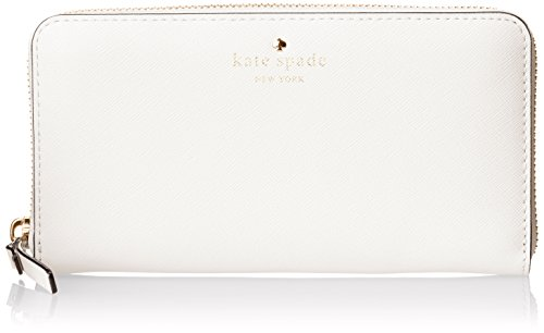 kate spade new york Cedar Street Lacey Wallet, Bright White, One Size
