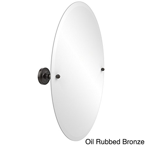 Allied Brass PR-91-ORB  29-Inch X 21-Inch Oval Tilt Mirror, Oil Rubbed Bronze by Allied Brass