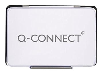 /in metallo/ Q Connect/ /timbro cuscino Nero