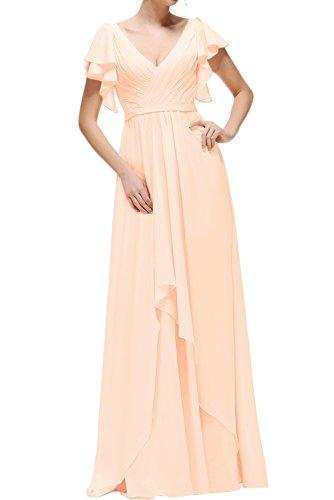 Sunvary Fashion VNeck Neu Chiffon Abendkleider Ballkleider ...