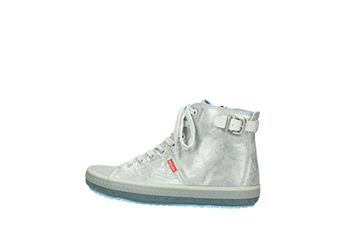 Omoda Richelieus Silver Leather 36123 712 YrxFTqRCrw