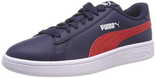 Peacoat Peacoat Peacoat L Casser V2 Chaussure 06 Rouge puma kinder kinder kinder Jr Mixte Puma Blau ruban blanc xSXqFzw