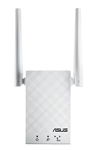 - ASUS RP-AC55 AC1200 Dual-Band WiFi Extender/Access Point/Media Bridge
