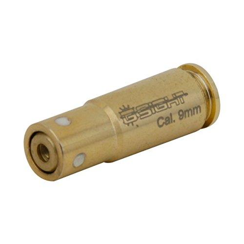 (G-Sight BS-9 9mm Luger Laser Bore SIGHT - Twist Cap, Brass)
