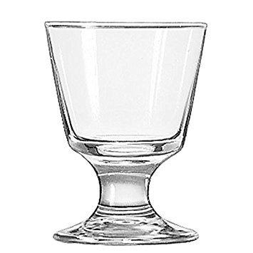(LIB3746 - Embassy Footed Drink Glasses, Rocks, 5.5 Oz, 4 1/8quot; Tall)