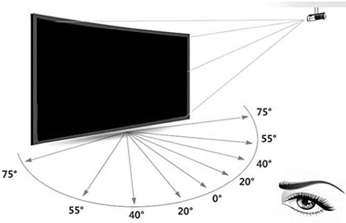 Busirde 120 Pulgadas Plegable proyector portátil Plegable ...