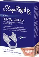 Sleepright Advance Splints, Protects Teeth and Dental Work From Clenching and Grinding, with Case by SPLINTEK