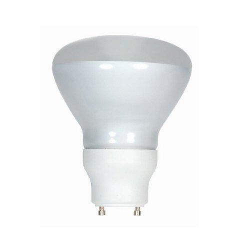 (Pack of 12) Satco S8224, 15 Watt (65 Watt) 690 Lumens R30 Reflector CFL Warm White 2700K GU24 Base, Compact Fluorescent Light Bulb by Satco