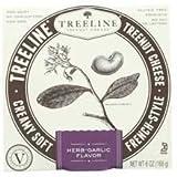Tree Line Herb Garlic Flavor Treenut Cheese, 6 Ounce -- 6 per case.