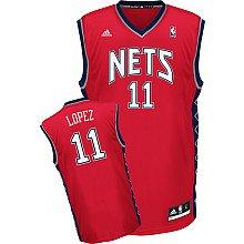 Adidas New Jersey Nets Brook Lopez New Revolution 30 Replica Road Jersey Xx ()