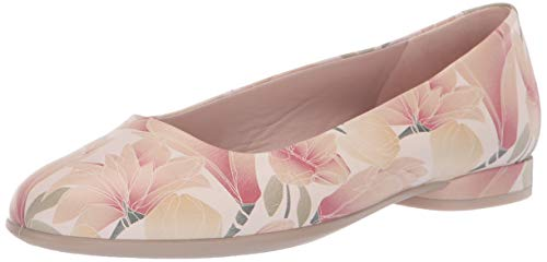(ECCO Women's Anine Ballerina Ballet Flat Rose dust 40 M EU (9-9.5 US))