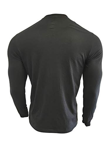 Nike Men's Long Sleeve T-Shirt Cotton/Polyester Blend DB6716 2