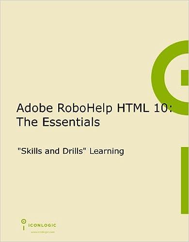 Adobe RoboHelp HTML 10: The Essentials